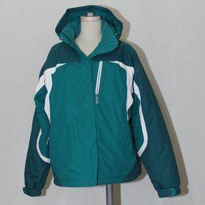 LL Bean Men's Winter Insulated Nylon Coat Jacket